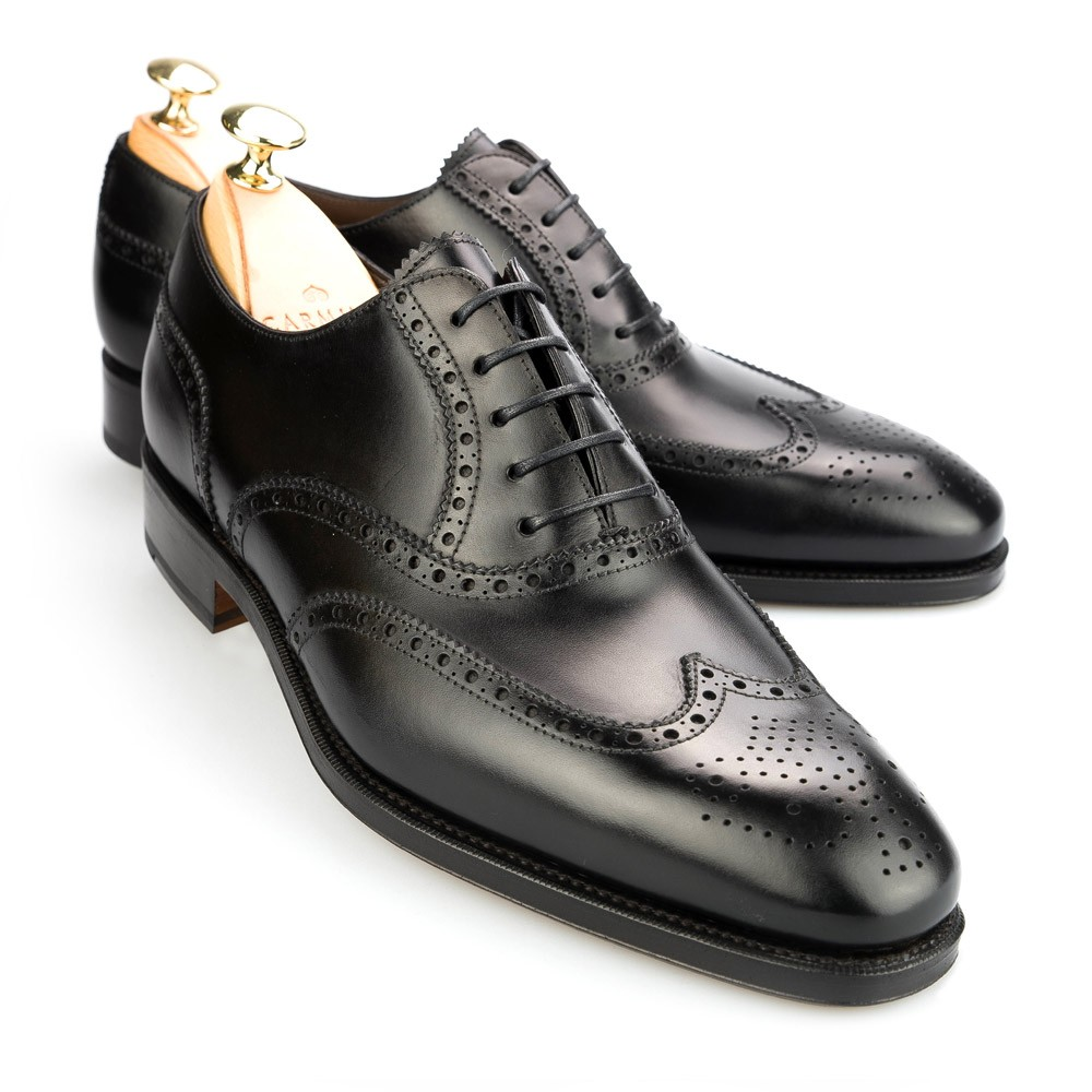 Oxford shoes: Wingtip brogues by Carmina